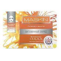 """Тканевая маска MASKIN """"Витаминный заряд"""" питание и защита"""