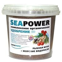 Комплексное органическое удобрение Sea Power (Сила Моря) на основе морских биоресурсов