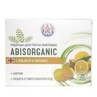 Пихтовые леденцы с имбирём и лимоном ABISORGANIC