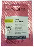 MASKIN Лифтинг-эффект с розовой глиной, водорослями и миндалём